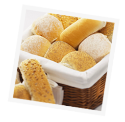 basket of rolls