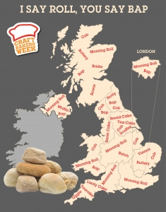 Craft Bakers' Week Language of Bread - Infographic
