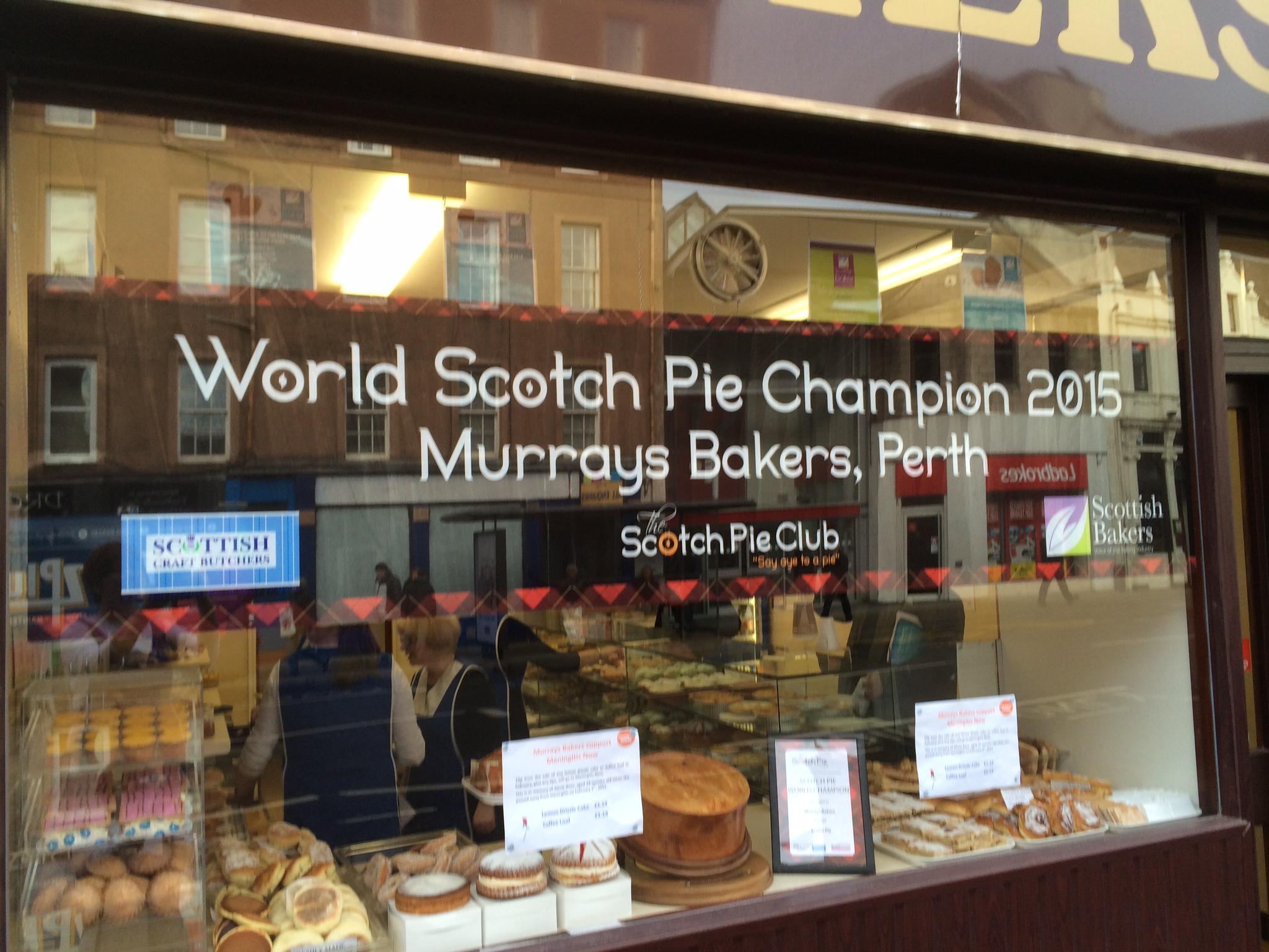 Murrays shop window